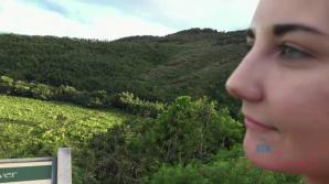 Jade loves the Waimea Canyon!